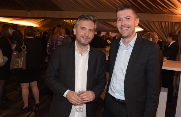 13. Cédric Denoyel (Capsa) et Yann Féminier (Medef Lyon-Rhône)
