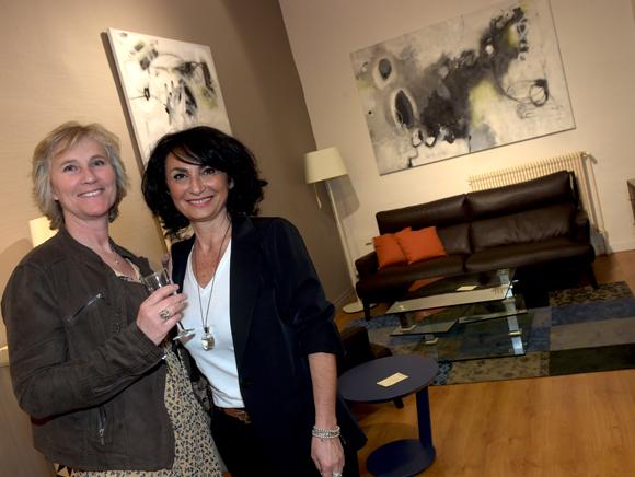 13. Patricia Lefebvre (Protect environnement) et Marie-France Calla