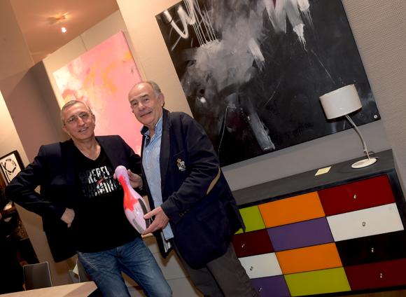 14. Philippe Savelli (Agence Sportive) et Christian Jaume, producteur de spectacle