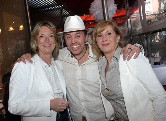 14. Edith Bourne (Philibert), Thierry Emmanuelli (VIP Boat Lyon) et Marie Molero (Philibert)