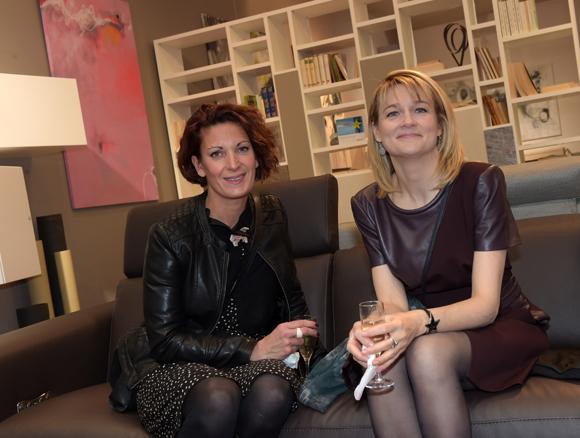 15. Laurence Dessauve (Université Lyon III) et Karine Girard (Caisse d'Epargne)