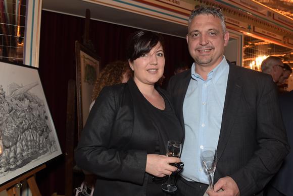 16. Frédéric Cote et son épouse Nathalie (Au Colombier)