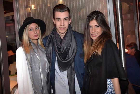 16. Bérénice Barbe (SC3 Events), son frère Amaury et Stella Rodriguez