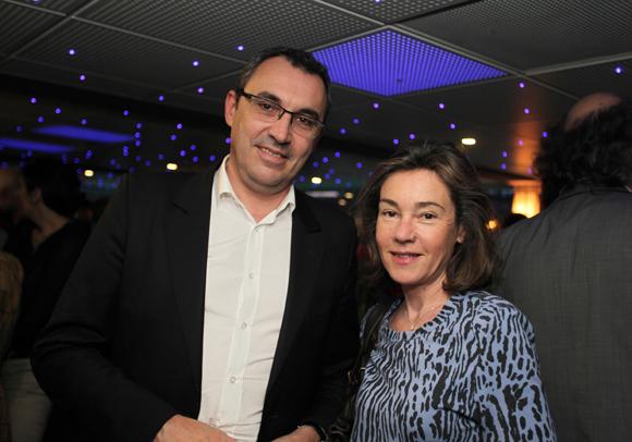 16. Bruno Genevois (Orfis) et son épouse Christine (CCI de Lyon)
