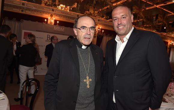 17. Le cardinal Philippe Barbarin et le chocolatier Philippe Bernachon