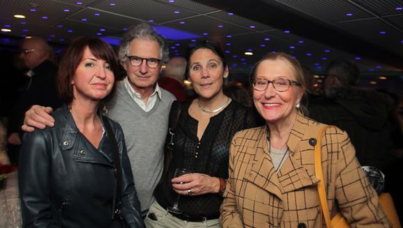 17. Isabelle Maréchal (Dyomedoa), Marco Asti (Tartufo), son épouse Valérie (Acteurs de l'économie) et Nicole Bessard
