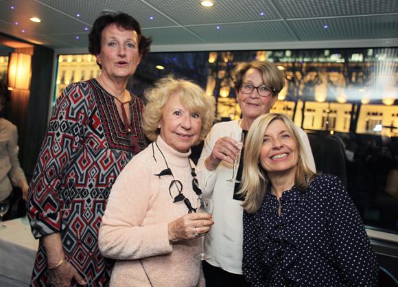 18. Marie-Claude Georges, Jojo, Susy et Brigitte Lhermet (Club Med Voyage)