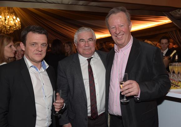 20. Laurent Fiard, président du Medef Lyon6Rhône, Christian Donzel (Visiativ) et Joël Jullien Deloitte
