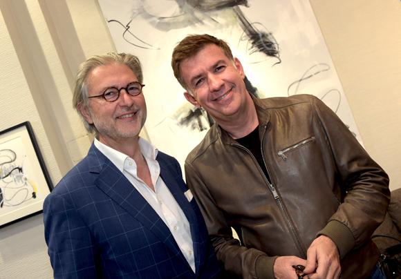 20. Daniel Buguet (Show Room Déco) et Nicolas Winckler (Lyon People)