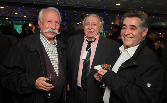 21. Jacques Magat, Claude Charriat et François Bergery