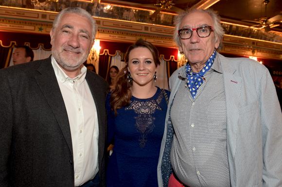 22. Richard Sansavini (Arrivetz), Pauline Martin et Albert Dray (Café du Pond)