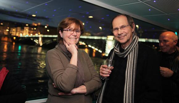 26. Jocelyne Mollet et son époux Claude