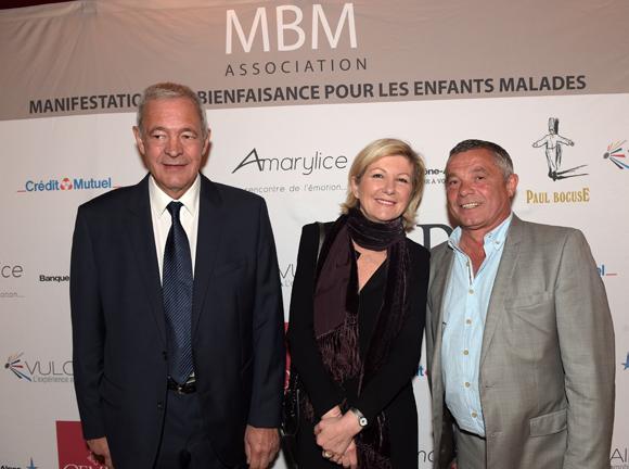 28. Maurice Osswald, son épouse Martine (Amarylice) et Thierry Monneri (MBM Association)