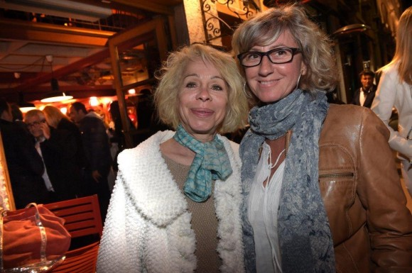 28. Martine Leridon et France Bertrand