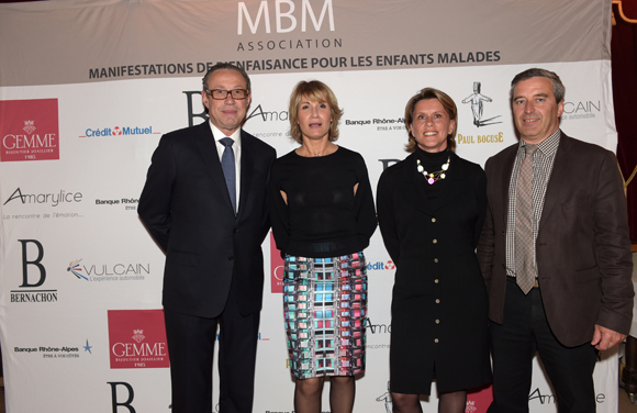 29. Jean-Pierre Rinaudo, Véronique Mazzocchin, Vincent Girerdet et son épouse Anne-Sophie (Vulcain)
