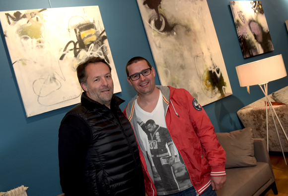 30. Bruno Bluntzer (Sibilia) et Fred Damour (HTC)