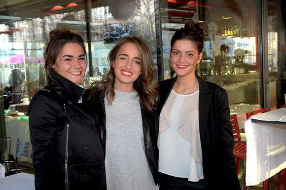 3. Victoire Martin, Ava Hazout et Gaëlle Grousset (Université Lyon I)