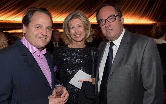 32. Cyril Balas, son épouse Laurence, conseillère municipale et Marc Michoulier (Marsh)
