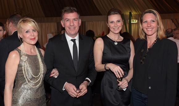 33. Catherine Condamin (Baccarat), Nicolas Winckler (Lyon People), Laurie Dubreuil (Arrow Génériques) et Florence Vial (Aviva)