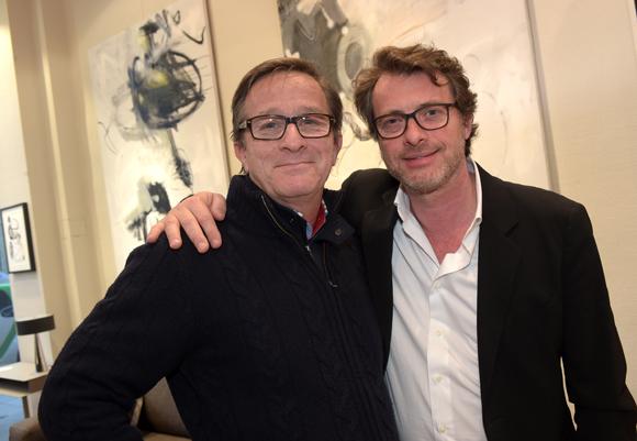3. Frank Luel (Marais International) et Grégory Heller (Raphaele Mobilier Contemporain)