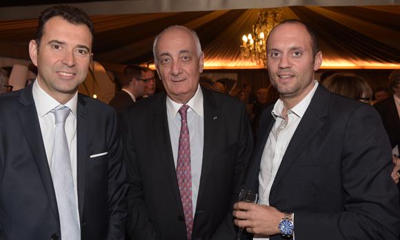 38. Laurent Loire (Caisse d'Epargne), Paul-Henri Watine et Nicolas Gagneux (6ème Sens Immobilier)