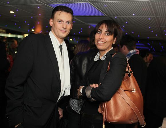 38. Christophe Scheider (Crédit Mutuel) et Rachida Meniar (Carrier)