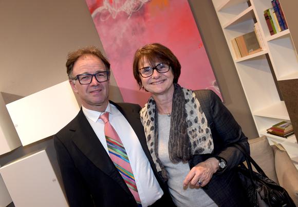 38. Le docteur Michel-Jack Boasis et son épouse Martine