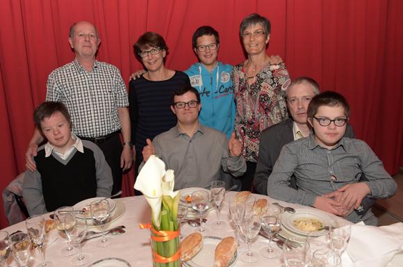 38. Les invités de l'Association Trisomie Geist 21