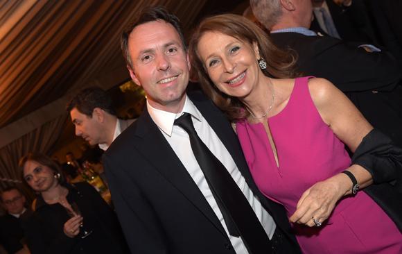 39. Guillaume Targe (Miroiterie Targe) et Geneviève Watine
