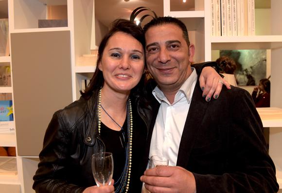 39. Sandrine Chausson (Raphaele Mobilier Contemporain) et Mickaël Dahan (Groupe Cot)