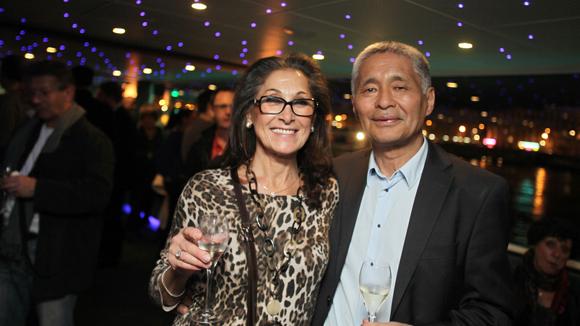 40. Anne Soriano et Akio Seto, antiquaires