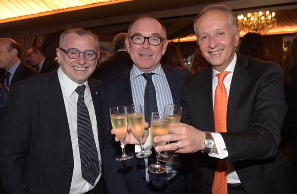 44. Joseph Viola (Daniel & Denise), Yvon Léa et Eric Vernusse (Banque Rhône-Alpes)