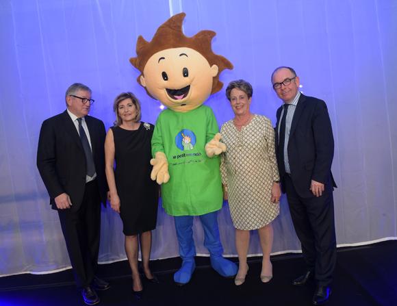 50. Professeur Pierre Châtelain (Le petit Monde), Chantal Partouche (Domaine Casino Le Lyon Vert), Carole Dufour (Idées en Tête) et Yvon Léa (Banque Rhône-Alpes)