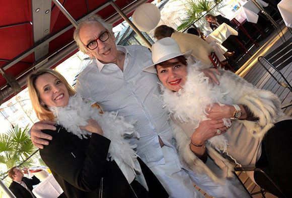 5. Sylvie Cochet (April), Albert Dray (Café du Pond) et Chantal Cannata (Le little Italy)
