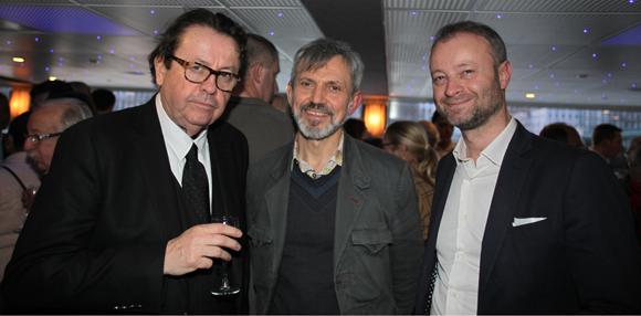 5. Philippe Vorbuger, vice-président du Crédit Mutuel Maréchal Lyautey, le docteur Patrick Thimonnier et Marco (Lyon People)