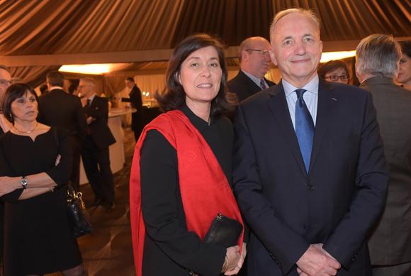 6. Gérard Herrbach, consul du Grand-Duché de Luxembourg et son épouse Marie-Christine