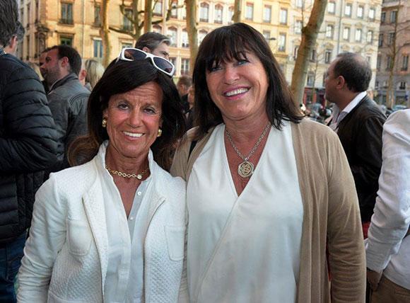 6. Béryl Maillard, consul de St Domingue et Carole Decoret