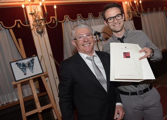 64. Elie Cunat (MBM Association) et Emilien Jeannot (Entresport), gagnant d'un séjour au Warwick Champs-Elysées