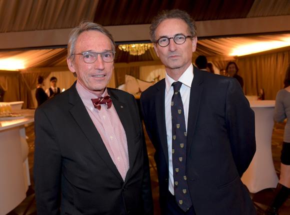 7. Bruno Dufour, consul de l'Equateur et le professeur Jean-Pierre Pracros (Petit Monde)