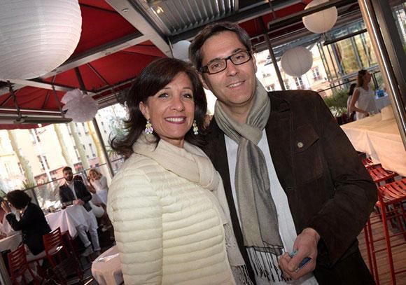 7. Bénédicte (Orpi) et son époux Marc Tuaillon (Areva)