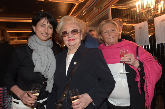 8. Anne-Marie Baezner (GL Events), Colette Sibilia et Huguette Merie (L'Habit Rouge)