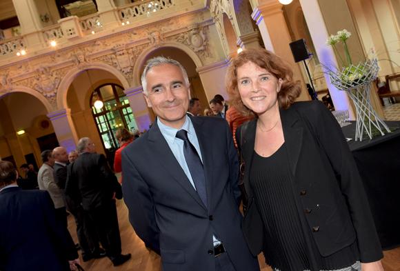 1. Eric Dourlot et Anaïs Vidal (Banque Populaire)