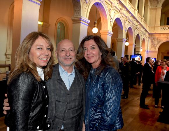 10. Maitre Corinne Menichelli-Glories (BDMV Avocats), l'horloger Jean-Louis Maier et Caroline Auclair (Lord Nelson)