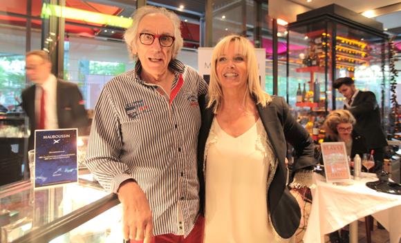 10. Albert (Café du Pond) et Corinne Merlin, responsable Mauboussin