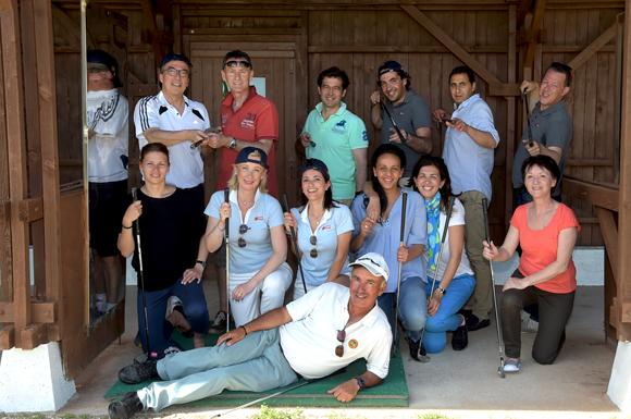 1. L'équipe Orpi et leurs invités à l'initiation practice