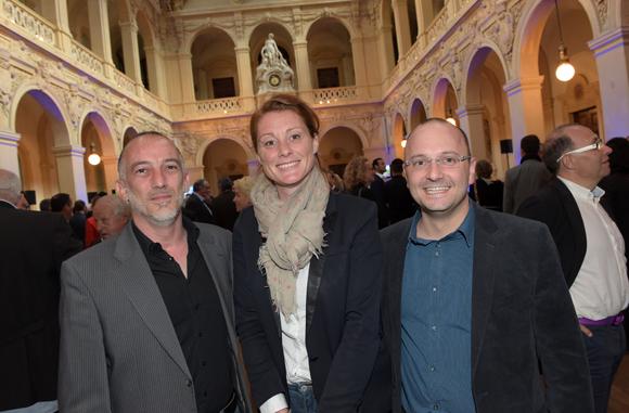 12. Patrice Louvet (Newi), Sophie Roger (Cet Ingénierie) et Jean-Lionel Amblard (Synapse)