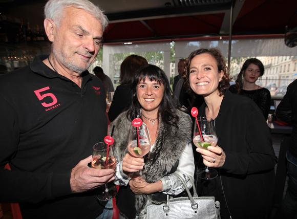 12. Bernard et Maryline Louvet (Cogem) en compagnie de Séverine Davo