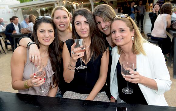 12. Sandra Sanchez, Justine Chave, Anaïs Renard, Lucie Jarousse  et Julie Sari