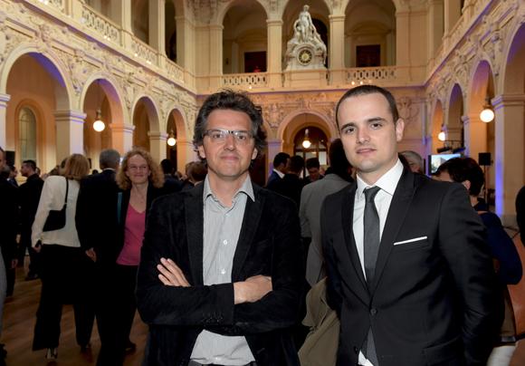 13. Ludovic Robert (BNP Paribas développement) et Nicolas Manceau (KPMG corporate finance)