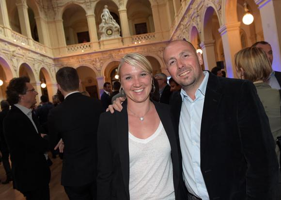 14. Fred Roussel et son épouse Severine (Expertise Roussel)